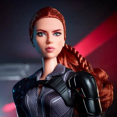Barbie Widow Doll Collector Suit Marvel Poseable