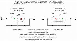 Using Common Cathode Or Anode Leds As Bipolar Leds