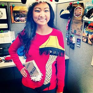 DIY Ugly Sweater- A Christmas Story Leg Lamp. Kelly, not ...