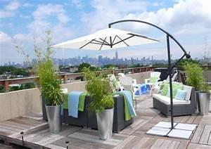 Terrasses En Vue : bambou en pot brise vue naturel et d co sur la terrasse ~ Melissatoandfro.com Idées de Décoration
