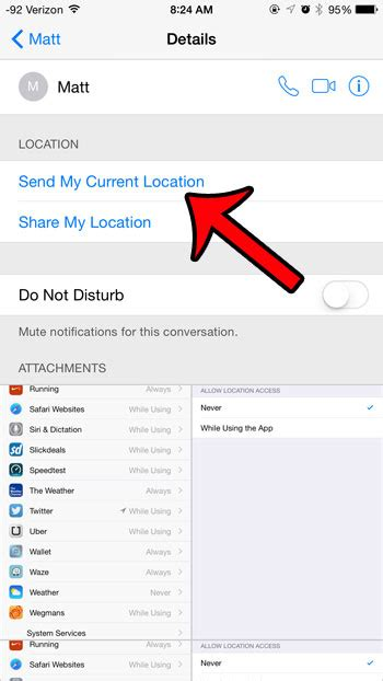 how to send location on iphone how to your current location on an iphone 6 solve