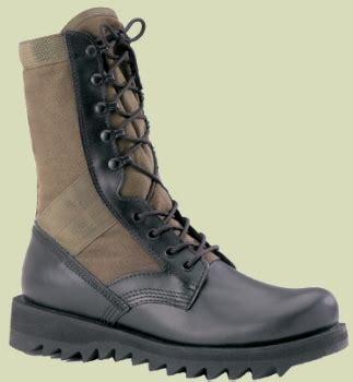 od green ripple sole jungle boots