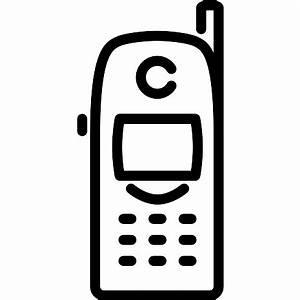 telefono celular nokia iconos gratis de tecnologia With nokia cell phone