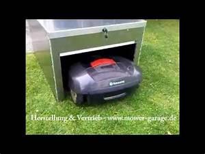 Roboter Selber Bauen Für Anfänger : mower garage f r m hroboter youtube ~ Watch28wear.com Haus und Dekorationen
