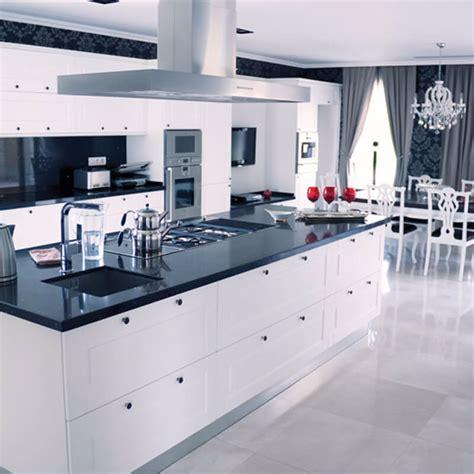 black  gray quartz countertops  bright perky kitchen designs
