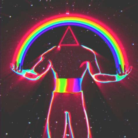 Void Design — 'rainbow_warden' | Vaporwave art, Trippy art