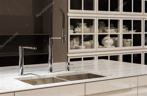kitchen sink with marble top marble top kitchen sink stock photo 169 essentialimagem