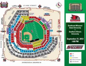 Seating Chart For Busch Stadium St Louis Missouri Tickets For Siu Semo Go On Sale Monday Local News