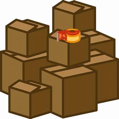Boxes Move Box Clipart Pile Clipartmag Cliparts