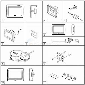 Jandy Aqualink Touch Parts