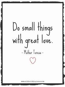 Small things. G... Small Mother Quotes