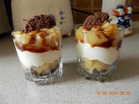 recette de triflle poires cookies caramel beurre sal 233