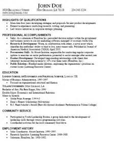 skills in resume for it professional resume types and sles