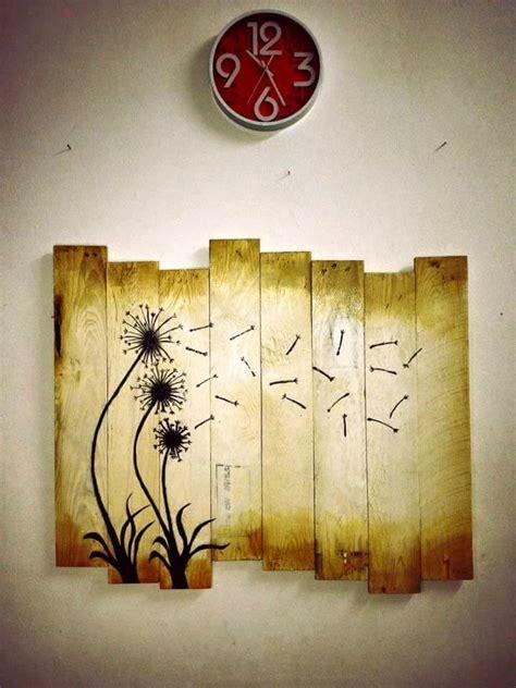 pallet wood wall decor art easy pallet ideas