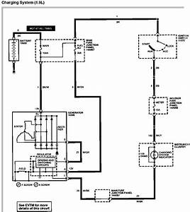 One Wire Alternator Wiring Diagram Ford