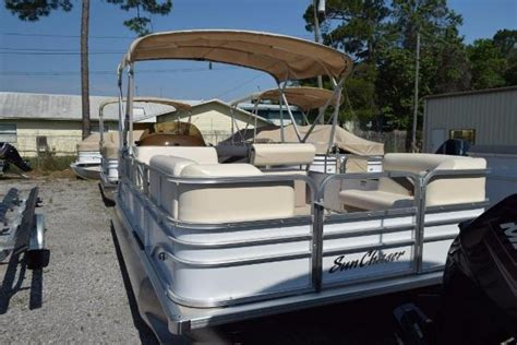 Sunchaser Pontoon Boat Mooring Covers by Pontoon Boats For Sale In Americus