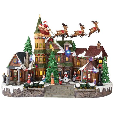 home accents holiday   animated musical led village