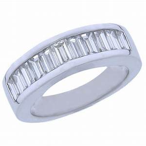 200 ct baguette cut diamond wedding band ring With baguette wedding band rings