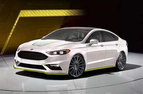 Fusion Sport Performance by Sneak Peek Of Ford S Line Up Of 50 Customized