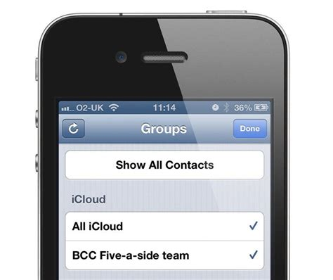 how to create groups on iphone create a of contacts on your iphone pc advisor