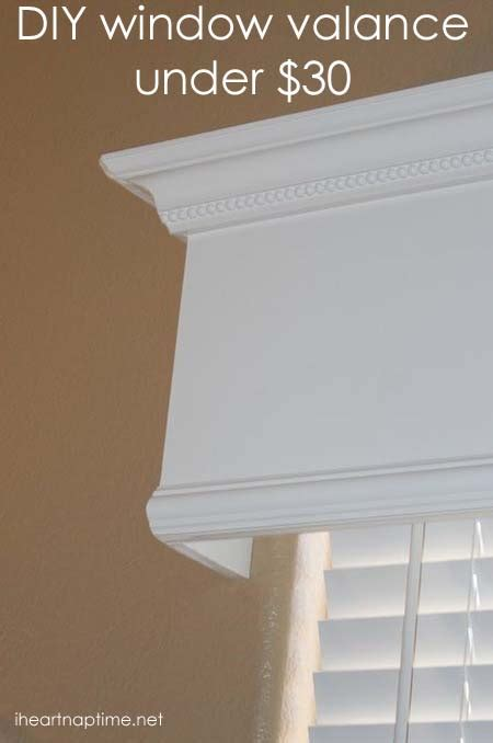 vertical blind valance lowes tutorial how to a wood valance window treatment i