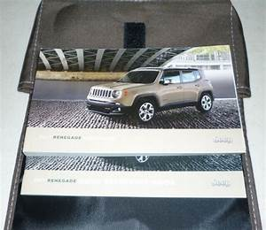 2017 Jeep Renegade User Guide Owners Manual Set 17 W  Case