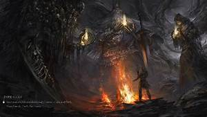 Dark, Souls, With, Fire, Flame, Hd, Games, Wallpapers