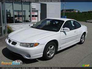 1998 Pontiac Grand Prix Gt Coupe Bright White    Graphite