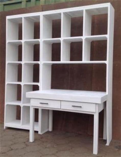 study desk and bookshelf study desk and bookshelf units white washed brakpan
