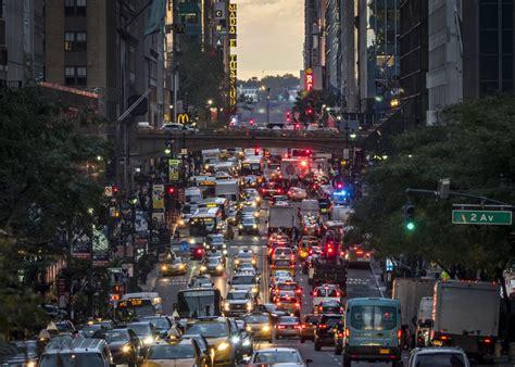 fee  wont curb uber fueled manhattan traffic