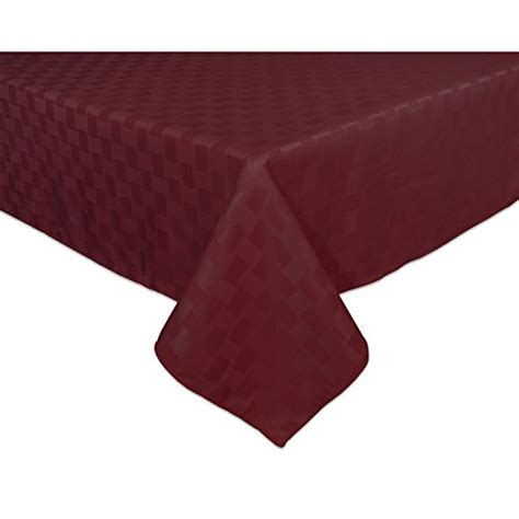 spill proof tablecloth bardwil reflections spill proof oblong rectangle 2427
