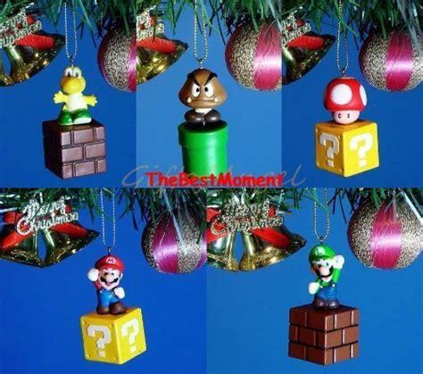 mario christmas mario christmas gift ideas  ornaments