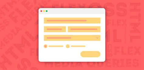 html  css tela de login  flexbox  media queries