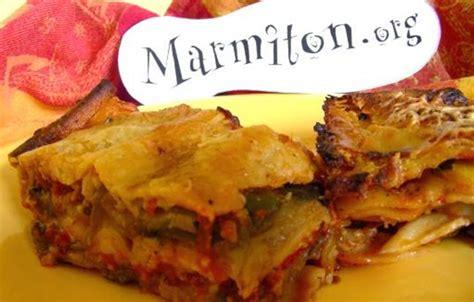 lasagnes vegetariennes facon moussaka recette de