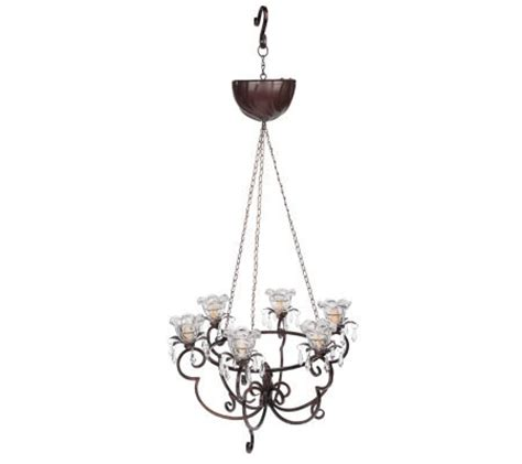 battery operated hanging chandelier w led light