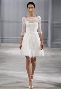 Robe De Mariee Courte : la robe de mari e courte est la nouvelle tendance de ces derni res ann es qui met en avant l ~ Preciouscoupons.com Idées de Décoration