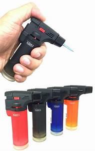 4 Pack Eagle Butane Torch Lighter Gun Windpro