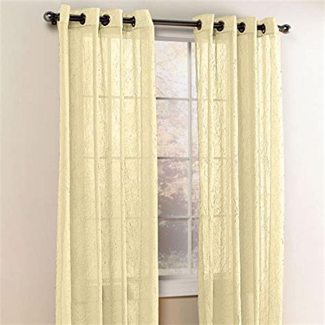 Crushed Voile Curtains Grommet by Brylanehome Crushed Voile Grommet Panel Budget Window Blinds