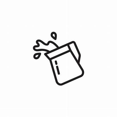 Pouring Pitcher Water Clip Illustrations Milk Icon