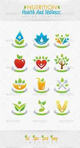 Nutrition Health And Wellness Vector Icons Set by ...