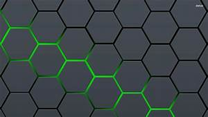Hexagon Pattern 727006 - WallDevil