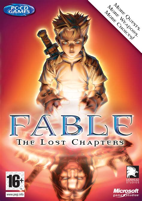 image fable  lost chapters coverjpg  fable wiki