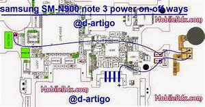 Samsung Note 3 Sm N900 Power Button Ways