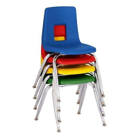 chairs amp preschool chairs classroom seating school 812 | Sprogs Preschool Chair w Chrome Legs 4 pack SC1009