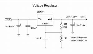 Lm317 Output Voltage Calculator
