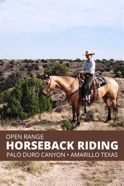 duro palo canyon riding horseback texas amarillo calculatedtraveller state horse trail park west travel places