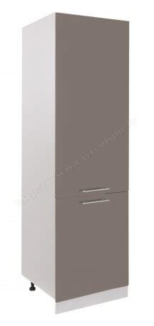 meuble colonne cuisine frigo encastr 233 60 cm pas cher easy cuisine