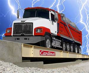 Armor Steel Deck Truck Scales With Guardian Hydraulic Load