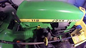 John Deere 112 Snow Blower Install  W  Electric Lift