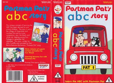 postman pat abc story vhs pal a find ebay